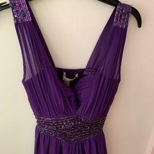 ASOS purple prom dress size small